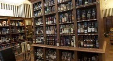 Whisky of wijn proeverij